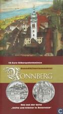 Österreich 10 Euro 2006, Abtei Nonnberg, Silber-Münze im Blister, handgehoben