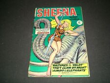 Sheena Queen of the Jungle 7, (1950), Fiction House