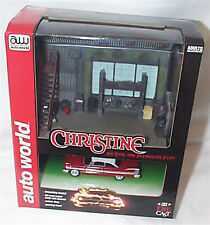 AUTOWORLD AWSD001 1/64 DARNELLS GARAGE DIORAMA AND CHRISTINE CAR