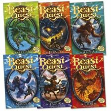 Beast Quest Series 1-4. Twenty-four Books with Collector Cards Intact [Paperback