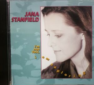(Autographed / Signed) JANA STANFIELD I'm Not Lost I'm Exploring CD
