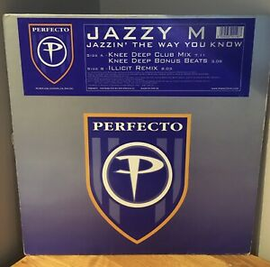 Jazzy M - Jazzin The Way You Know (Knee Deep mixes)  Perfecto – PERF08TX
