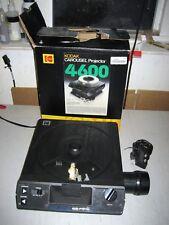 Kodak Ektagraphic Carousel 4600 35mm Slide Projector, Zoom LENS, Remote Control