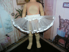 "White Net Crinoline Slip Petticoat 19-20"" Doll clothes fits Mattel Chatty Cathy"