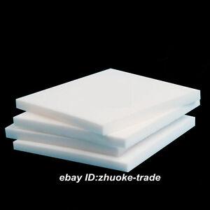 Teflon PTFE Virgin Sheet 15mm Thick White Plastic Panel F4 Bearings Tool Rings