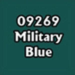 09269 MILITARY BLUE - 0.5 oz Dropper Reaper Master Series Paints