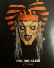 The Terror Of Hallow'S Eve Evil Trickster Mask Halloween Cosplay Life Size
