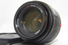 Minolta AF 50mm f/1.4 Standard Prime Lens SN1485917 *Needs Repair*