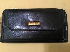 Kenneth Cole Reaction Python Print Open Tab Wallet $60