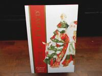 "NIB Fitz and Floyd 49-751 Cardinal Christmas Figural Cookie Jar 12"" x 9"" w2s9"