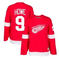 Gordie Howe CCM Detroit Red Wings Heroes of Hockey Authentic Throwback Jersey