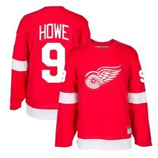 Gordie Howe ccm Detroit Red Wings héroes de hockey auténtico Throwback Jersey