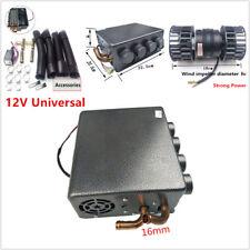 Universal 4 Hole Underdash Heater 12Pcs Copper Tube+ Speed Switch 12V 5/8'' Hose