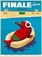 96794 Genoa Santa Margherita Ligure Italy Travel Decor LAMINATED POSTER UK
