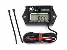 Digital Tachometer / Hour Meter for 2 & 4 Stroke Spark Small Gas Engines Motors