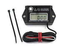 Digital Tachometer / Hour Meter for 2 & 4 Stroke Spark Small Gas Engines Motors