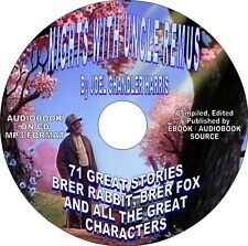 NIGHTS WITH UNCLE REMUS - 71 Short Stories -AUDIOBOOK ON DVD-BRER RABBIT, FOX ..
