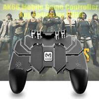 AK66 PUBG Mobile Six Fingers Game Controller Trigger Shooting Gamepad Accessary