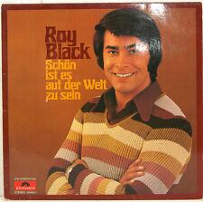 """ROY BLACK - SCHÖN IST ES AUF DER WELT ZU SEIN 12"""" LP (c134)"""
