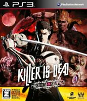 Used PS3 Killer Is Dead Premium Edition Japan import