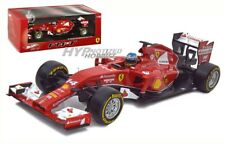 HOT WHEELS 1:18 RACING FORMULA 1 FERRARI F2014 FERNANDO ALONSO DIECAST RED BLY67