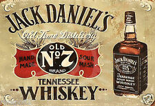 Vintage Advertising Poster/Jack Daniel's Whiskey/13x19 inch/Reproduction/Liquor
