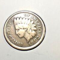 "1902 ""P"" Indian Head Cent Cent"