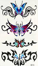 New Einmal-Tattoo Temporary Body Art Wasserdicht HM156 Neu