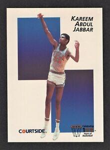 1991-92 Courtside Kareem Abdul Jabbar #25 Promo - UCLA/LA Lakers - HOF