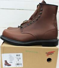 New NIB Red Wing Mens #953 Brown Leather Supersole Work Boots Size 11 D