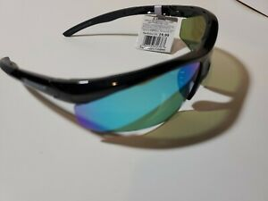 Lot of 3 Sea Striker Captain's Choice Sunglasses Black Frame/Blue Chrome lens
