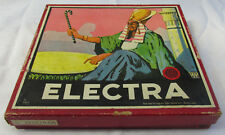 Vintage Old Electra Educational Board Game Toy Drgm Germany 1920s Rare!