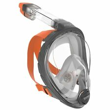 Ocean Reef Aria Full Face Snorkel Mask With Camera Holder Grey Lgxlg
