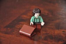 LEGO Minifig The Lord of the Rings Frodo Baggins with book The Hobbit