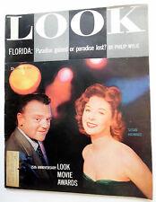 LOOK Magazine 3/20/56 15th Annual LOOK MOVIE AWARDS Articles SUSAN HAYWARD ak