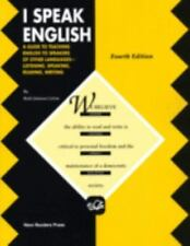 I Speak English: A Guide to Teaching English to Speakers of Other Languages-List
