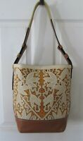 Gorgeous Laser Cut Genuine Leather Bucket Style Shoulder Bag Purse GR8 4 Summer
