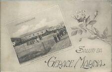 Gerace Marina Locri - Caserma Scaglione - Reggio Calabria viaggiata circa 1915