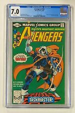 AVENGERS #196 Marvel 1980 CGC 7.0 Taskmaster Origin & 1st Full Appearance