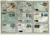 18 amazing postcards in 2 sets Mail (gift, postcrossing)