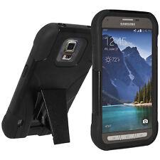 Amzer SOFT + HARD Dual Layer Supporto Custodia Cover per Galaxy S5 Active sm-g870a