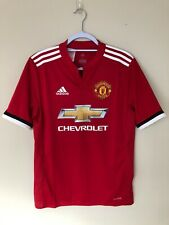 Manchester United Football Shirt 2017/18 Home Jersey Man Utd XL Youth