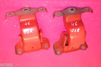 RENAULT TRAFIC SL27 1.9 dci SWB 2003 O/S/R RIGHT REAR DOOR HINGES PAIR 312304 K