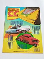 Vintage  custom car Magazine kustom hot rod hotrod cars October 1989