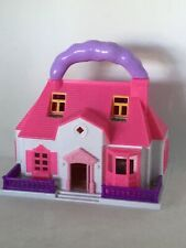 Hello Kitty , Carry-Along Mini Doll House vintage toy 1982