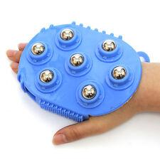Acupressure Glove Rollerbal Massage Mitt Massager Healthy Roller Color Random