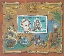 Timbre Bateaux Djibouti o lot 11487