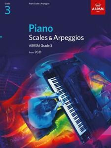 ABRSM Piano Scales & Arpeggios from 2021, Grade 3 - Same Day P+P