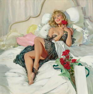 Joyce Ballantyne Pin Up Girls Giclee Art Paper Print Poster Reproduction