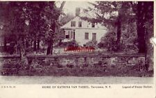 pre-1907 HOME OF KATRINA VAN TASSEL, TARRYTOWN, NY Legend of Sleepy Hollow